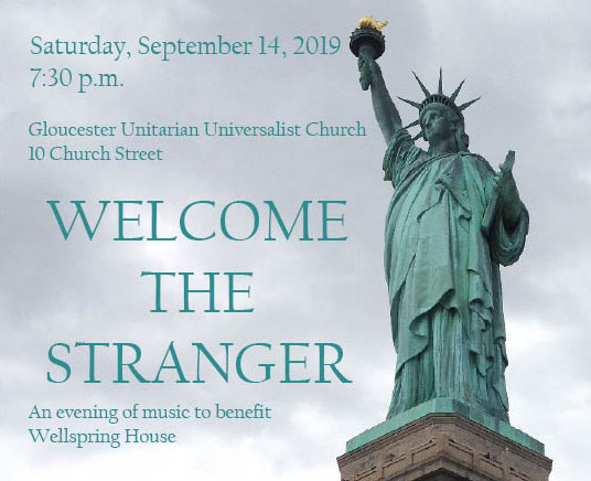 Welcome the Stranger Concert