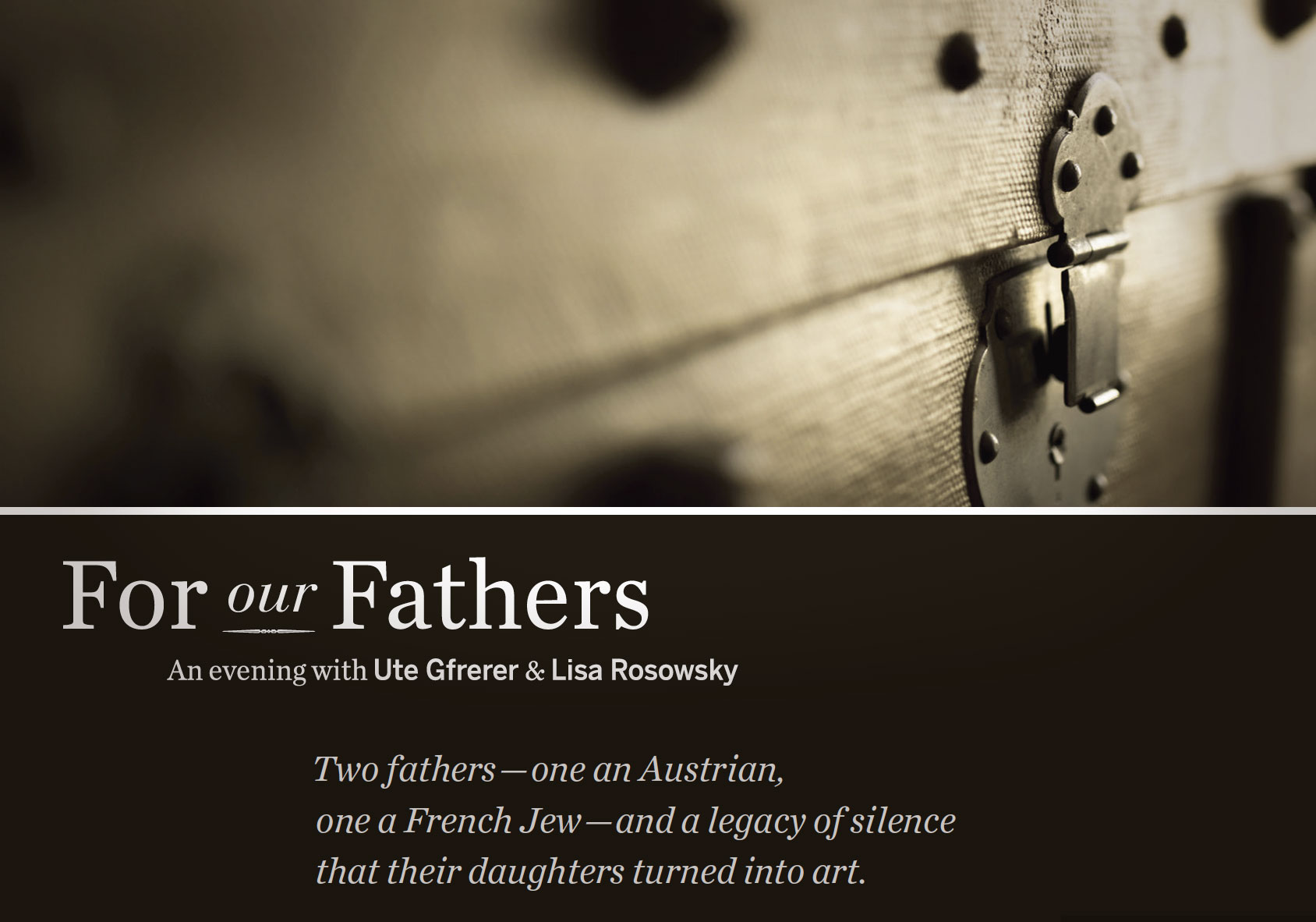 For our Fathers