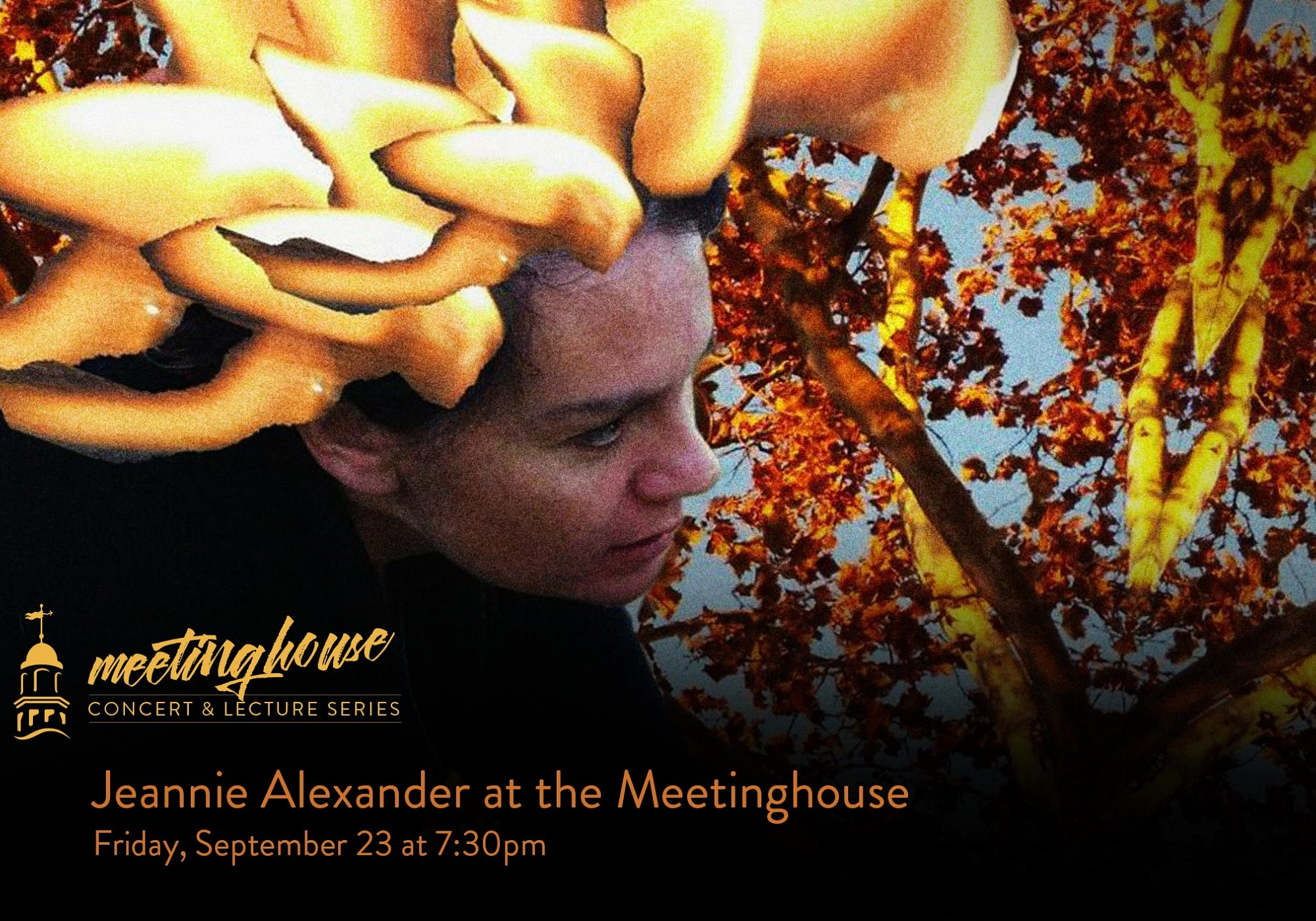 Jeannie Alexander at the Meetinghouse