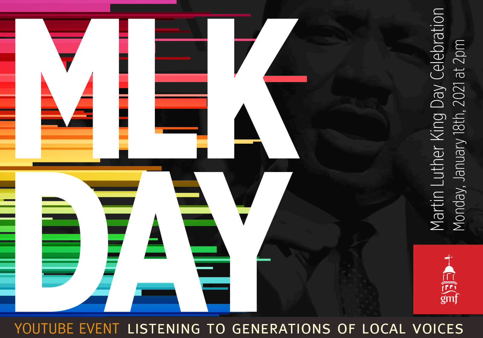 MLK Day Celebration, January 18, 2021, 2pm